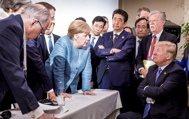 НАУКА Отправили в ад. Саммит G7 завершился расколом