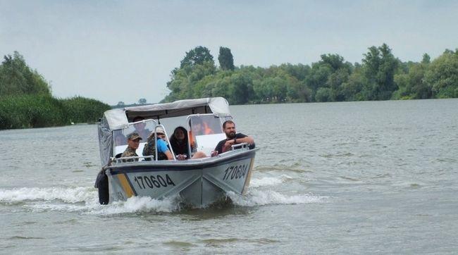 """""""Осетрова варта"""" Всемирного фонда природы WWF в низовьях Дуная"""