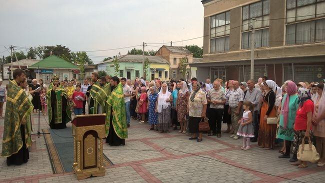 В Килии помолились заступникам семейного очага - святым Петру и Февронии