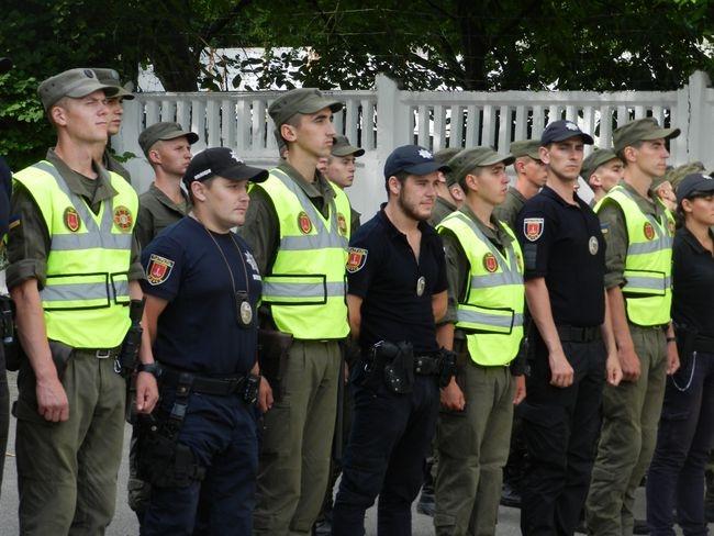 К патрулированию Измаила присоединились 75 новоприбывших нацгвардейцев