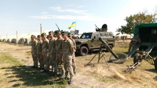 Пограничники Измаильского отряда участвуют в многонациональных учениях «Си Бриз-2018»
