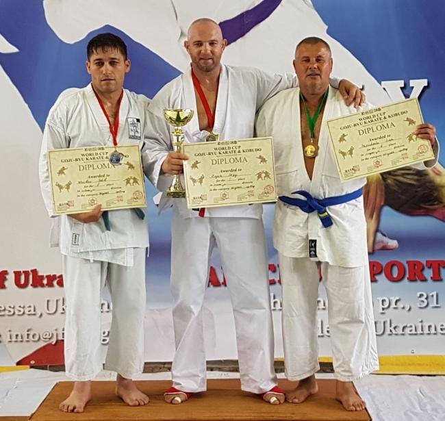 Иван Папушенко стал бронзовым призёром на Кубке мира
