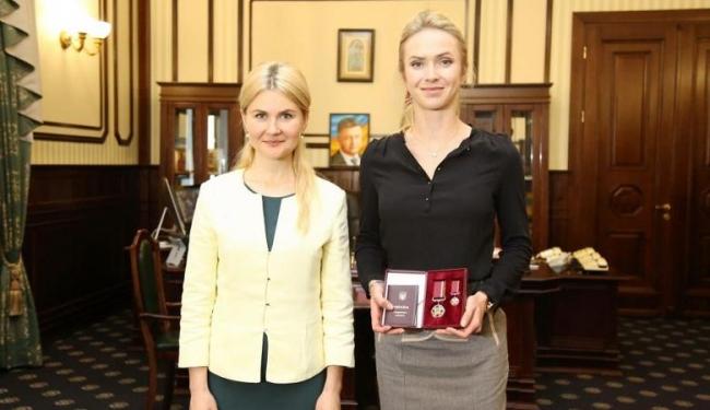 Элина Свитолина получила государственную награду