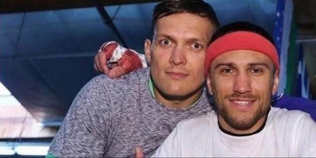 Ломаченко вступился за Усика перед критиками в адрес чемпиона