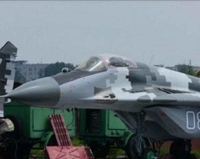 Украинская армия получила модернизированные истребители