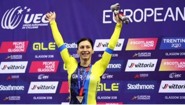 Украинка Старикова выиграла второе серебро на ЧЕ-2018 по велотреку