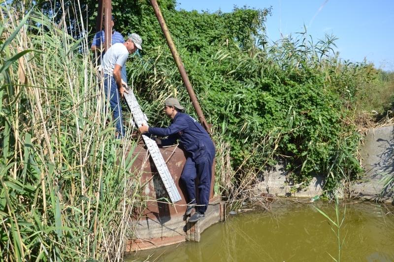 Уровень воды в Сафьяне теперь под контролем