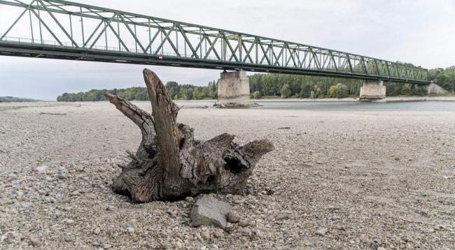 Судоходство на Верхнем и Среднем Дунае закрыто