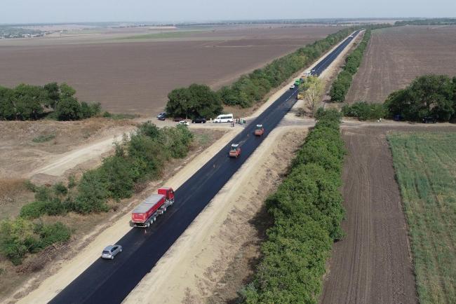 Дорога от моста у Паланки в село Монаши отремонтирована