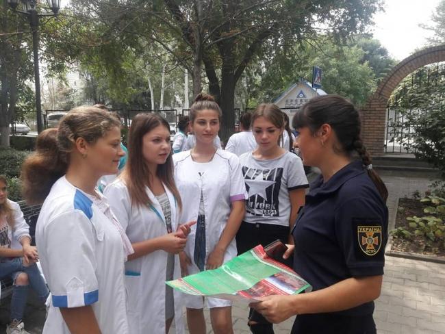 Ізмаїльські рятувальники нагадали про небезпеку пожеж