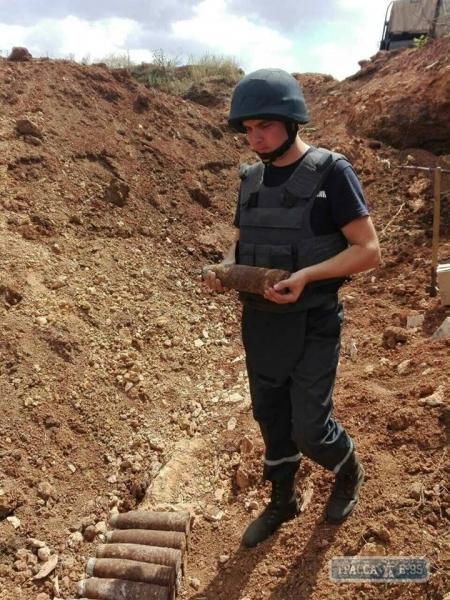Пиротехники обезвредили в Измаильском районе 15 взрывоопасных предметов времен Второй мировой войны