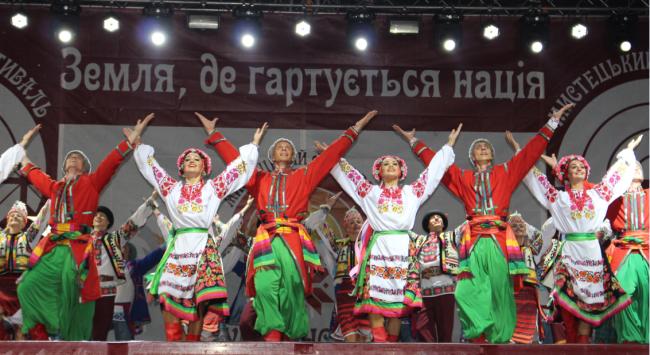 """Фестиваль """"Украинская Бессарабия"""" - грандиозный, мощный, ошеломляющий подарок городу!"""