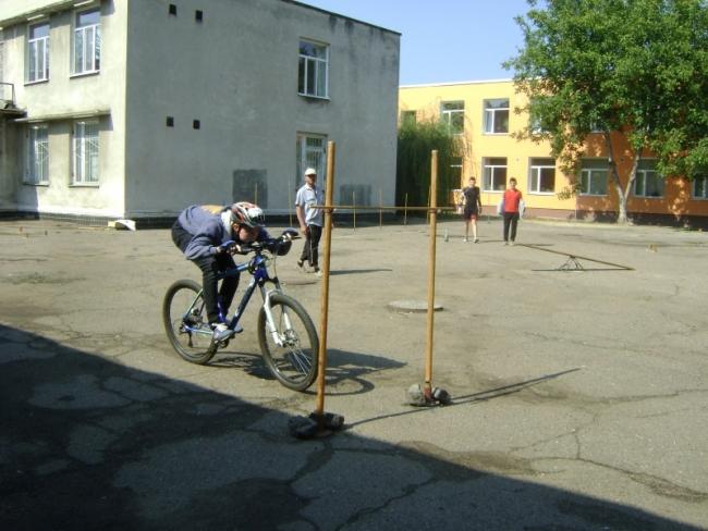 На старте - велотуристы!