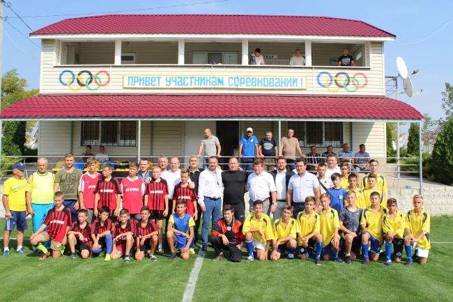Президент Федерации футбола Украины Андрей Павелко встретился с юными футболистами Измаильского и Болградского районов