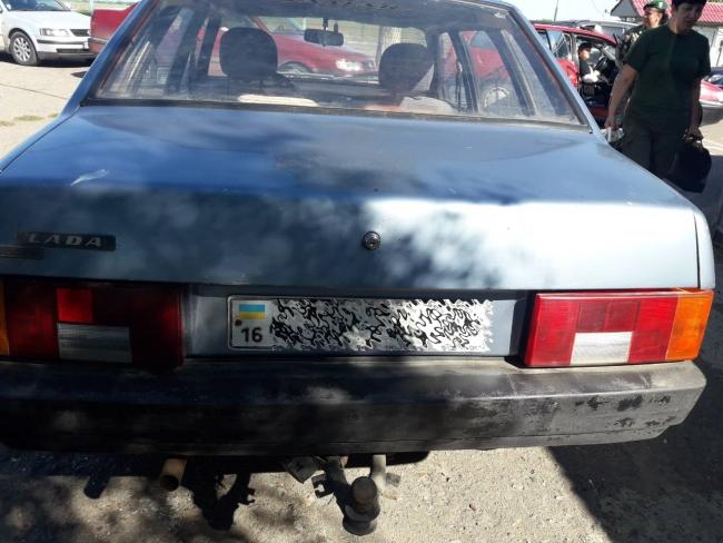 Пограничники Измаильского отряда обнаружили автомобиль, номер кузова которого не соответствует регистрационным документам