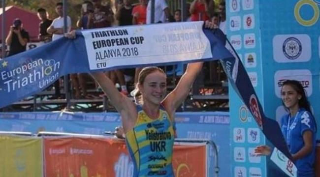 Украинка Елистратова завоевала золото на этапе Кубка Европы по триатлону