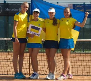 Сборная Украины победила Россию и впервые вышла в финал Кубка Федерации