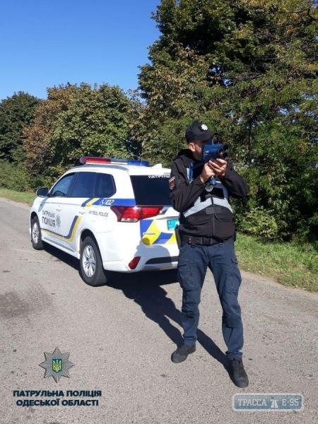 Лазерные приборы начали фиксировать нарушения на трассах Одесской области