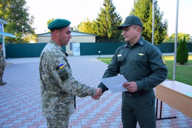 Пограничников Измаильского отряда поздравили с Днём защитника Украины