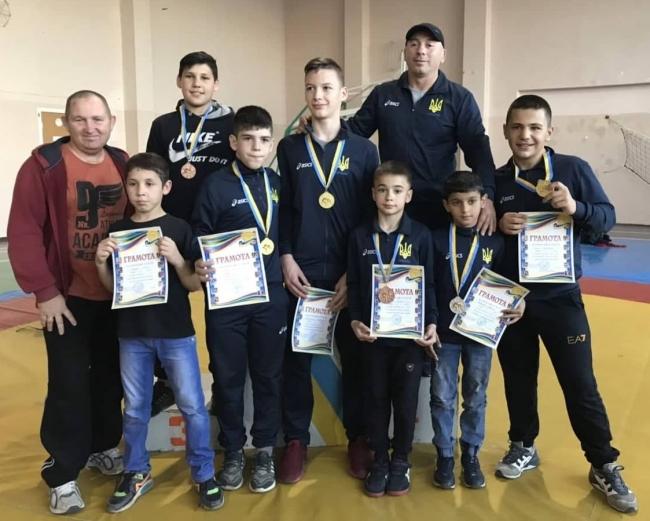 На чемпионате Одесской области по вольной борьбе в Каменке