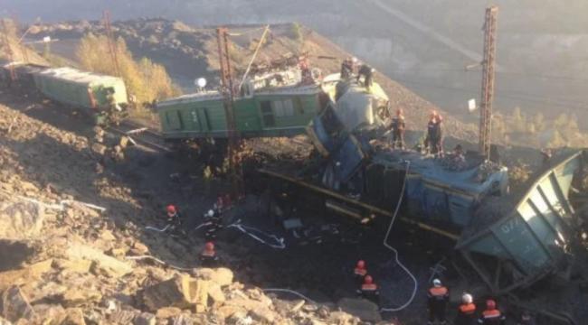 В Кривом Роге столкнулись поезда