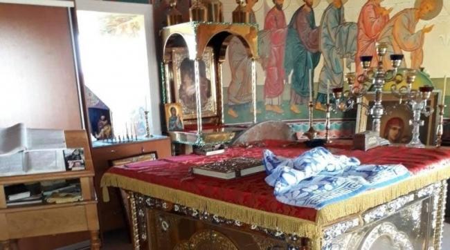 Из сельского храма в Приозёрном похищены старинные иконы