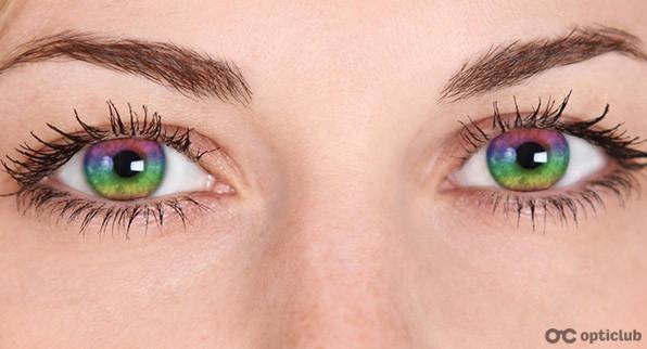 Учёные создали меняющие цвет линзы для лечения глаукомы