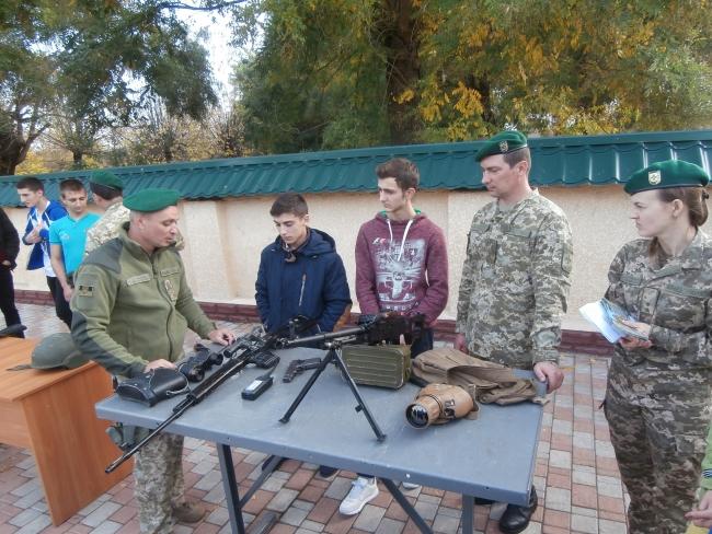 Школьники Болградского района посетили пограничников в городе Измаил