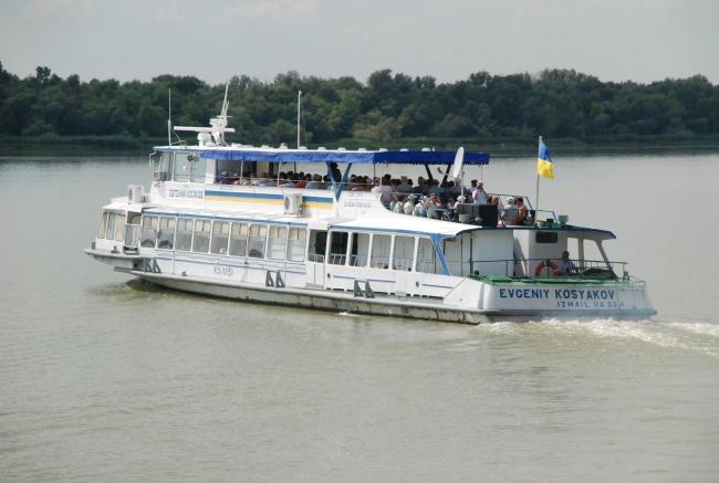 Теплоход «Евгений Косяков» выполнил запланированные рейсы в дельту Дуная