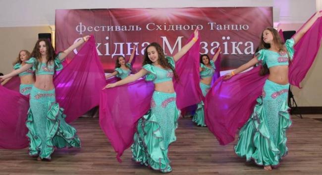 Восточные танцы на Западной Украине