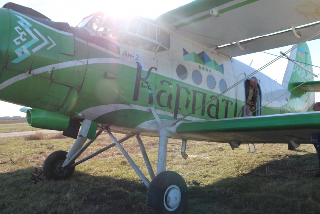 В Запорожской области с самолетов разбросали вакцину против бешенства
