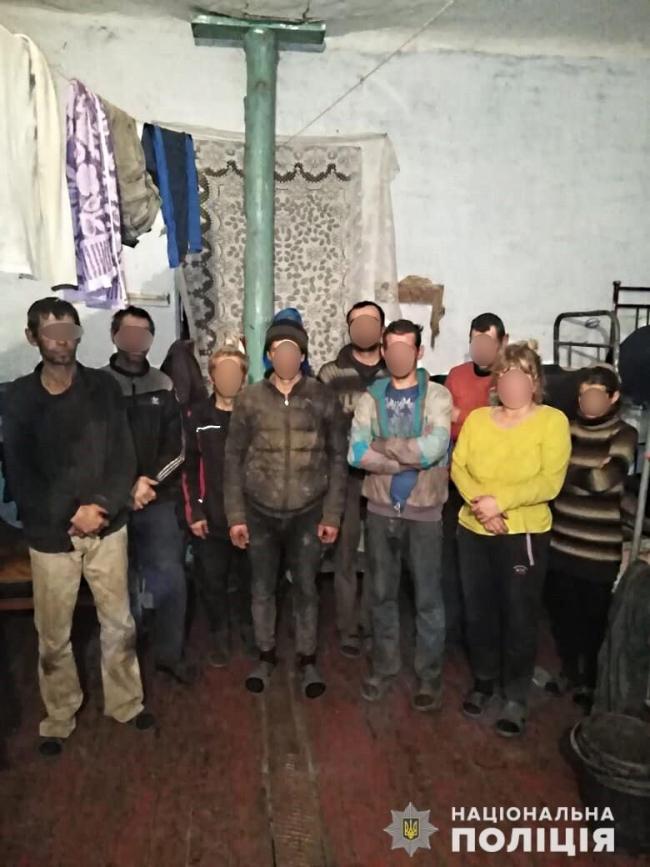 Полиция освободила 94 человек, в рабских условиях содержавшихся под Одессой