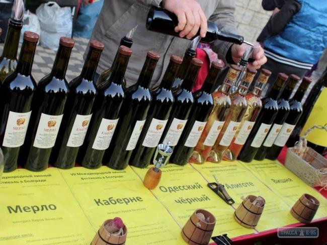 Измаильские виноделы стали лучшими на VIII Международном Болградском винном фестивале