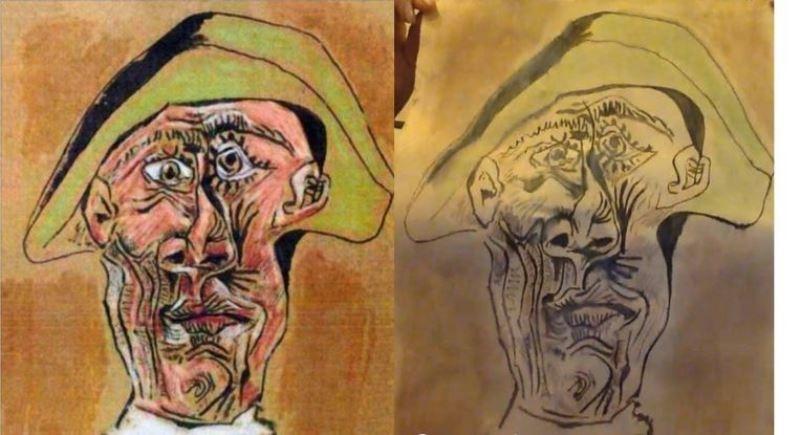 В Тулче под деревом обнаружили похищенную 6 лет назад картину Пабло Пикассо
