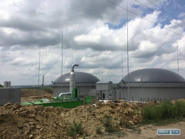 Уникальная биогазовая станция на кукурузе открылась в Одесской области