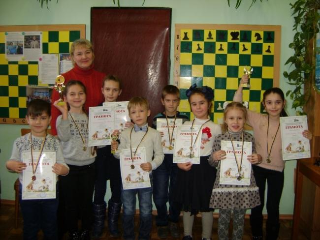 Стартовал чемпионат города по шахматам среди детей