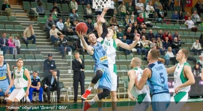 "Баскетбол: ""Химик"" на последних секундах вырвал победу у ""Днепра"""