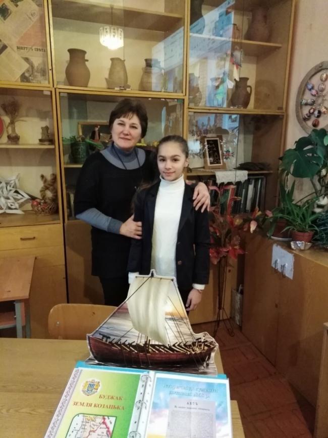 Юная измаильчанка достойно выступила в Одессе