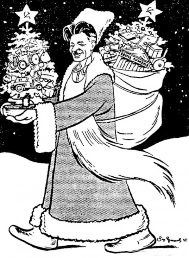 Новый год. Кто придумал Деда Мороза