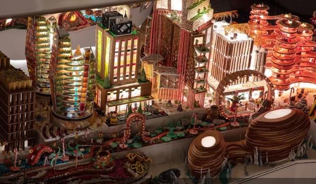 Из пряников, желе и карамели: известные архитекторы построили съедобный город будущего