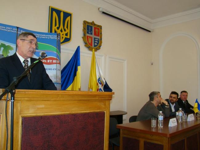 В Рени официально представлен новый глава РГА Валентин Котляренко