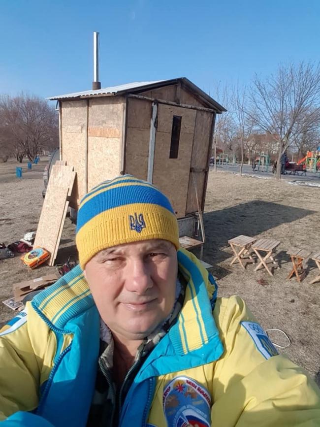 В Измаиле работает пункт обогрева - для моржей!