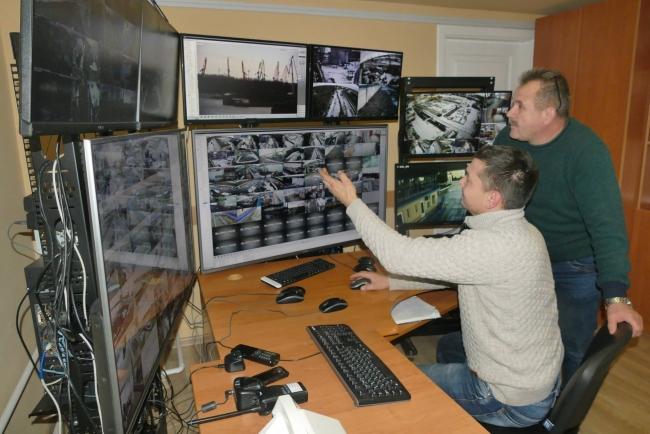 ППК-1 Измаильского морского порта получил новую систему видеонаблюдения