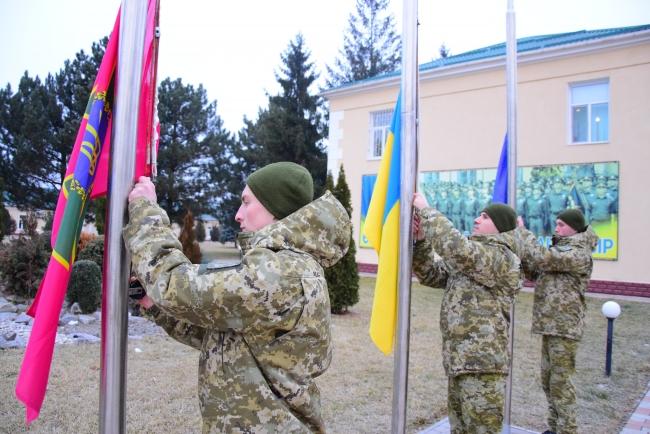 Пограничники Измаильского отряда отметили День соборности Украины