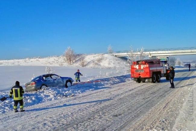 На дорогах Одесской области спасены 10 транспортных средств и 17 человек