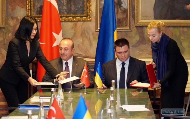 Министры иностранных дел Украины и Турции обсудили в Одессе пути развития отношений между странами
