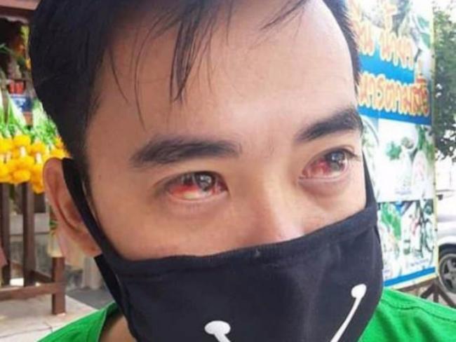 Густой смог в Бангкоке вызывает кровавые слезы