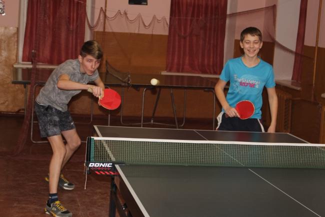Теннисные баталии школьной спартакиады