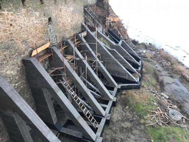 О состоянии реализации противоаварийных работ на территории Аккерманской крепости