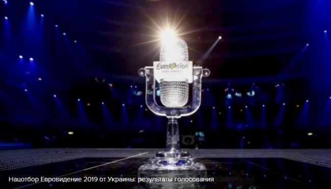 Нацотбор на Евровидение 2019 от Украины
